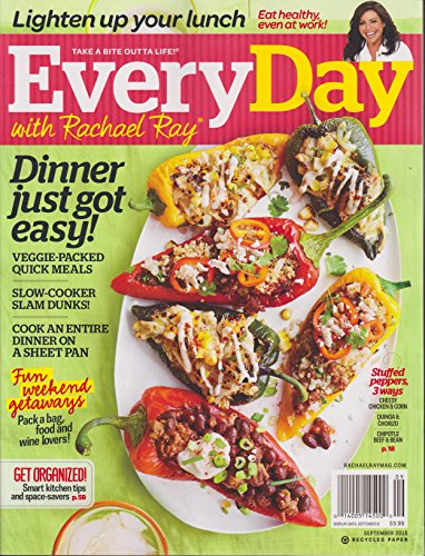 Everyday with Rachael Ray Magazine September 2015