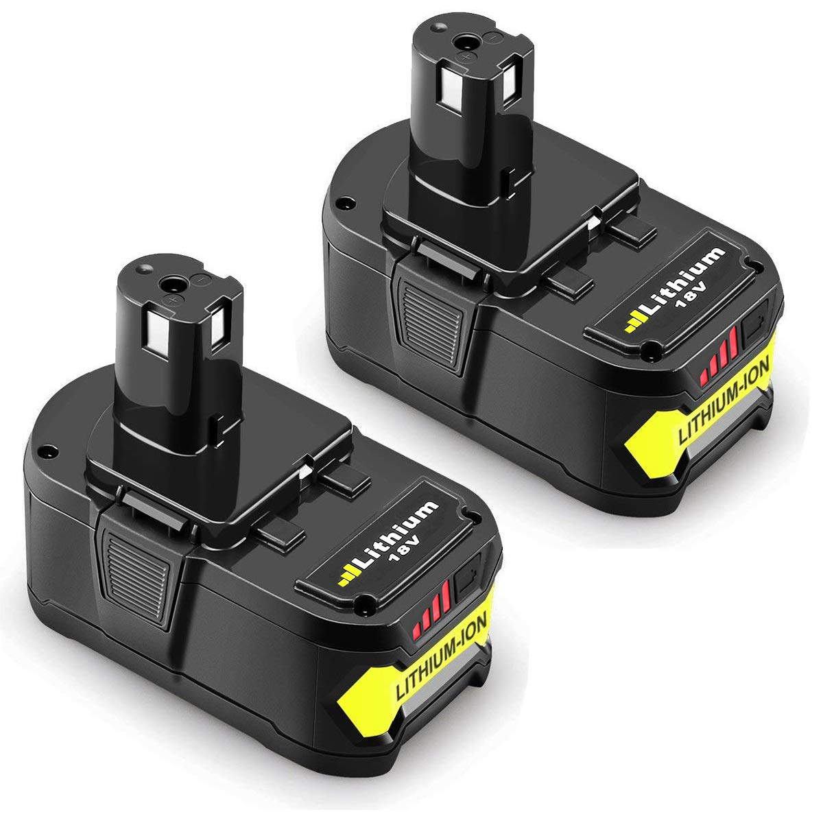 4.0Ah for Ryobi 18V Battery P108 ONE+ P104 P105 P102 P103 P107 P109 Cordless Power Tools Battery ENERMALL