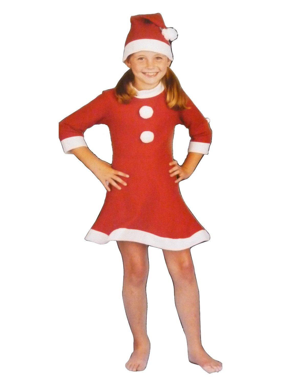 Girls santa dress 1-5 yrs SANTA TUTU DRESS girls christmas dress ...