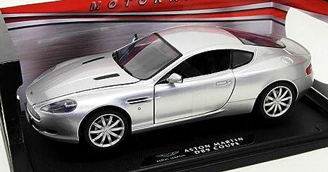 Motormax Aston Martin Db9 Coupe Silber 1 18 Artikel Nr 73174s Amazon De Spielzeug