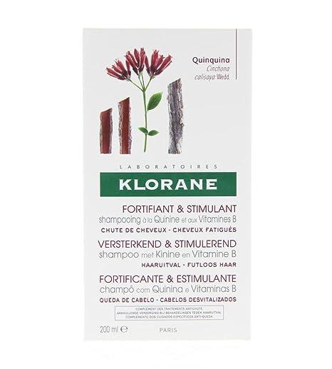 KLORANE Champú al Extracto de Quinina 200 ml