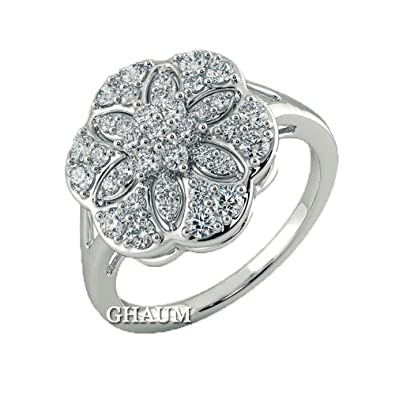 Bague Diamant Art Deco Alliance Diamants Ronds 1 22 Carat En Or