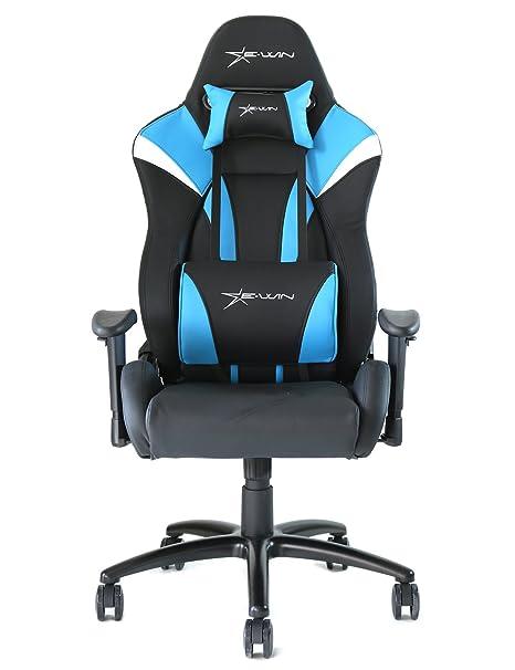 Amazon.com: ewin silla Hero Series ergonómico Gaming silla ...