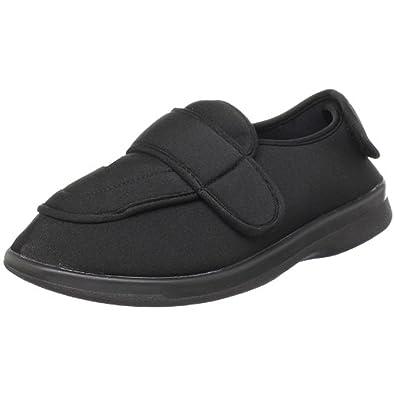 Propet Men's TravelFit Shoe Black / Grey 9.5 X (3E) & Oxy Cleaner Bundle