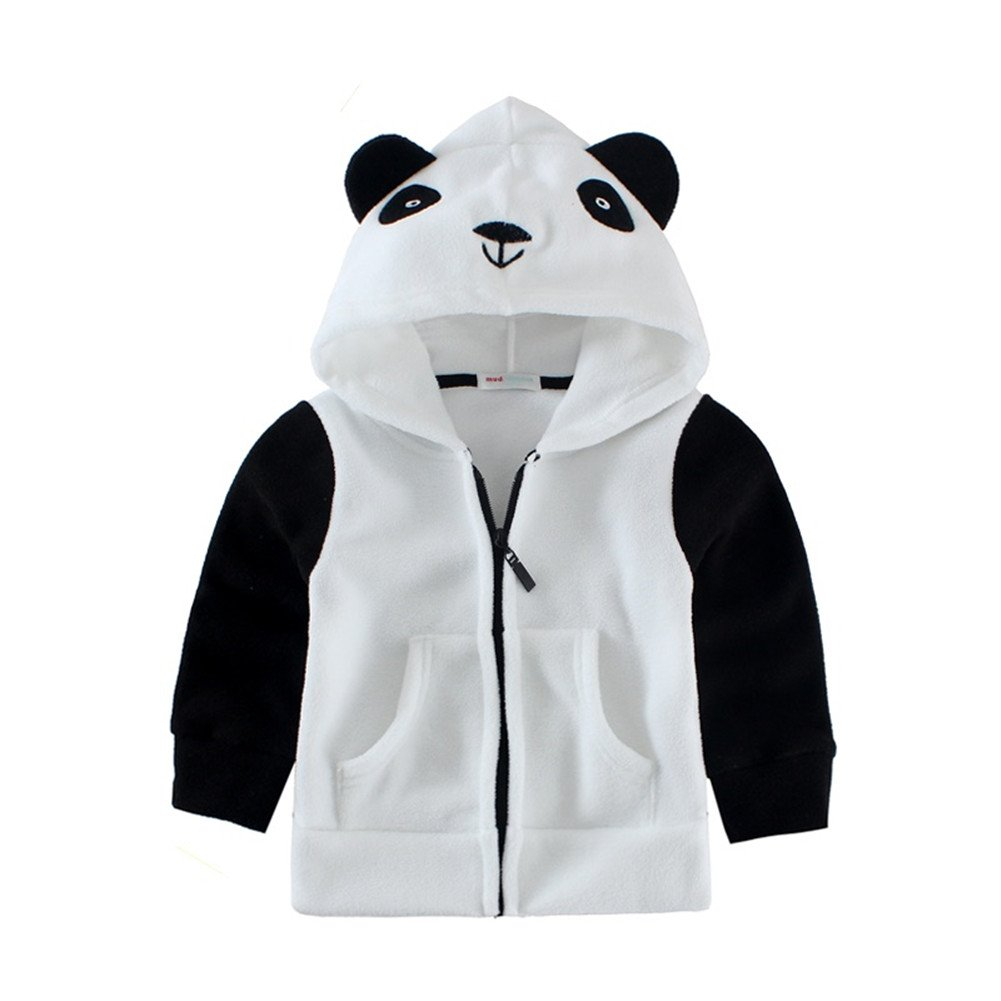 Mud Kingdom Cute Toddler Boys Fleece Animal Costume Hoodies 24 Months Panda by Mud Kingdom