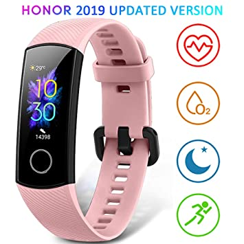 HONOR Band 5 Smartwatch Pulsera de Actividad con Pulsómetro Mujer Hombre, Monitor de Actividad Deportiva, Ritmo Cardíaco, Impermeable IP68, Reloj ...