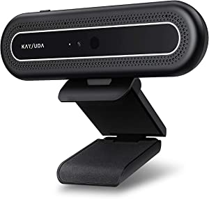 Kaysuda CA20 Face Recognition USB IR Camera for Windows Hello Windows 10, Web Camera Up to 1080P (Entry Level) with Dual Omnidirectional Microphone for Video Conference and Home Office