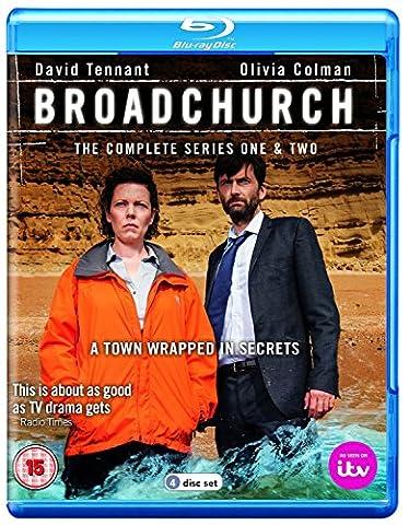 Broadchurch: Series - Season 1 and 2 [Blu-ray] (Six Feet Under Second Season)