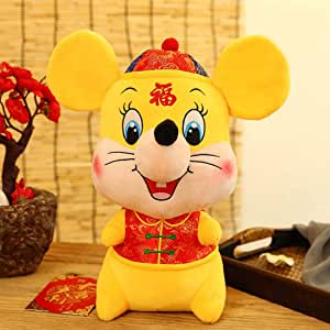 Chinese Lunar New Year Mascot, Lucky Rat Doll, Children's ...