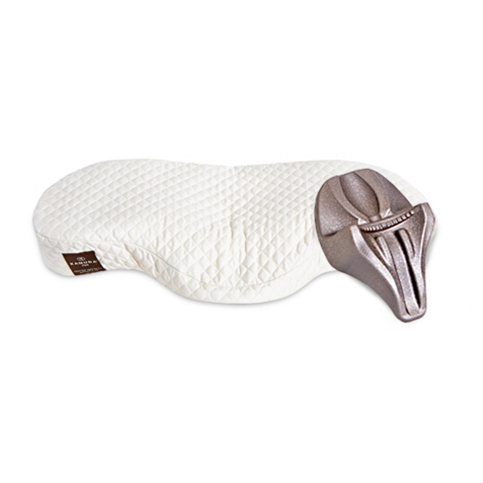 Kanuda CV4 Memory Foam Orthopedic Pillow Health Sleep Single Set (Pillow 1 + a Nap)