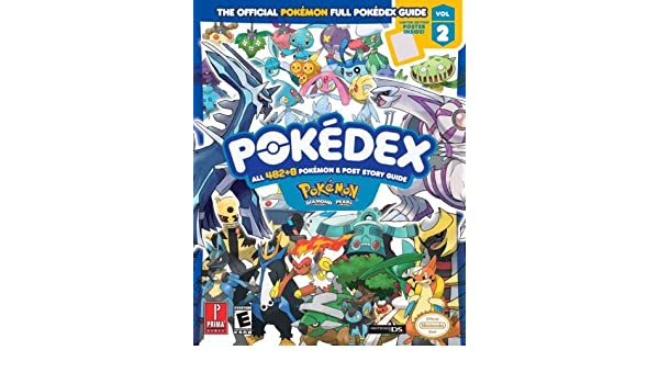 Pokemon Diamond & Pearl Pokedex: Prima Official Game Guide ...