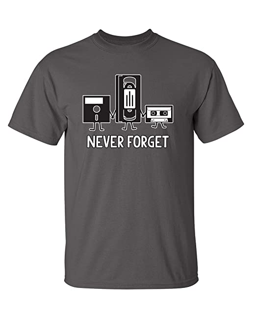 Review Never Forget Sarcastic Graphic
