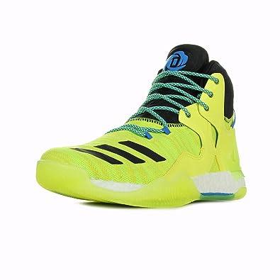 Yellow Basketball Adidas D Rose 7 Primeknit Basketball