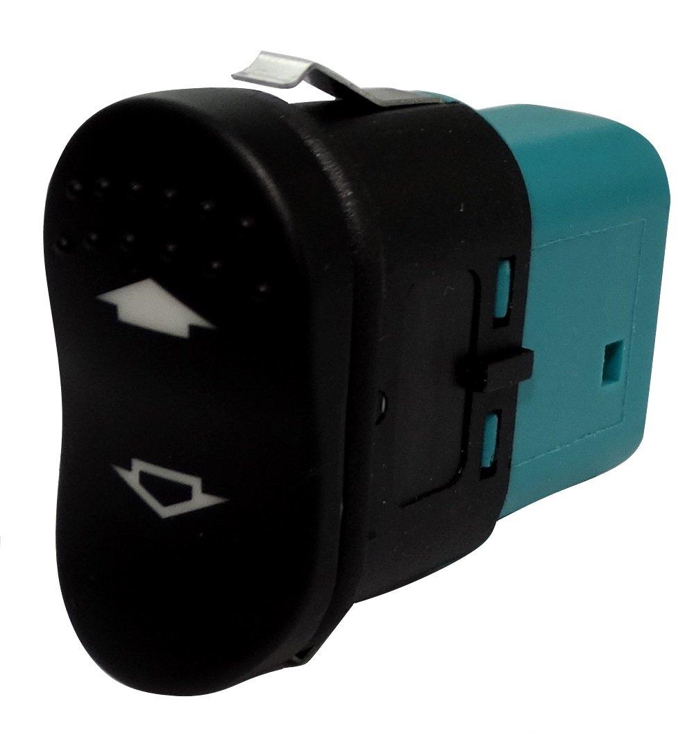 Aerzetix: Interrupteur bouton lè ve-vitres compatible 98AG14529CB pour auto voiture C18716 C18716-AL705