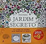 capa de Jardim Secreto + Floresta Encantada - Caixa