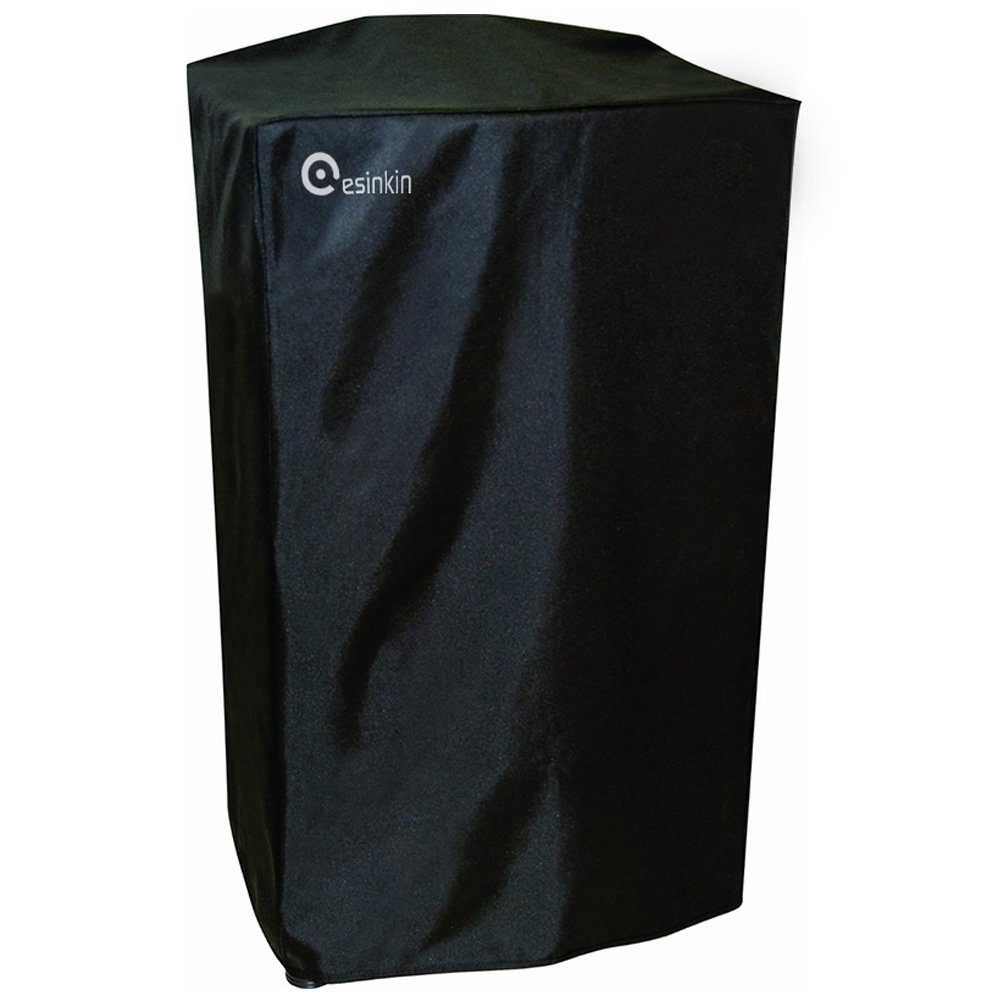 Esinkin Durable Electric Smoker Cover Protects Masterbuilt Electric Smoker From Dust and Dirty, Fit Perfectly,(30-Inch, Black) Esnkin
