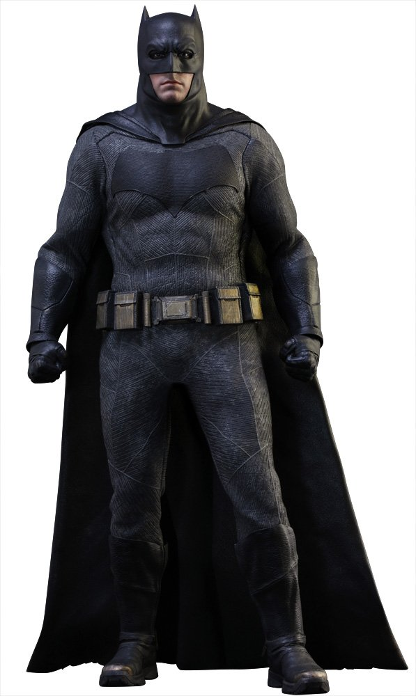 Hot Toys Maßstab 1  6  Batman Batman Vs Superman Dawn of Justice Figur (Schwarzgrau)