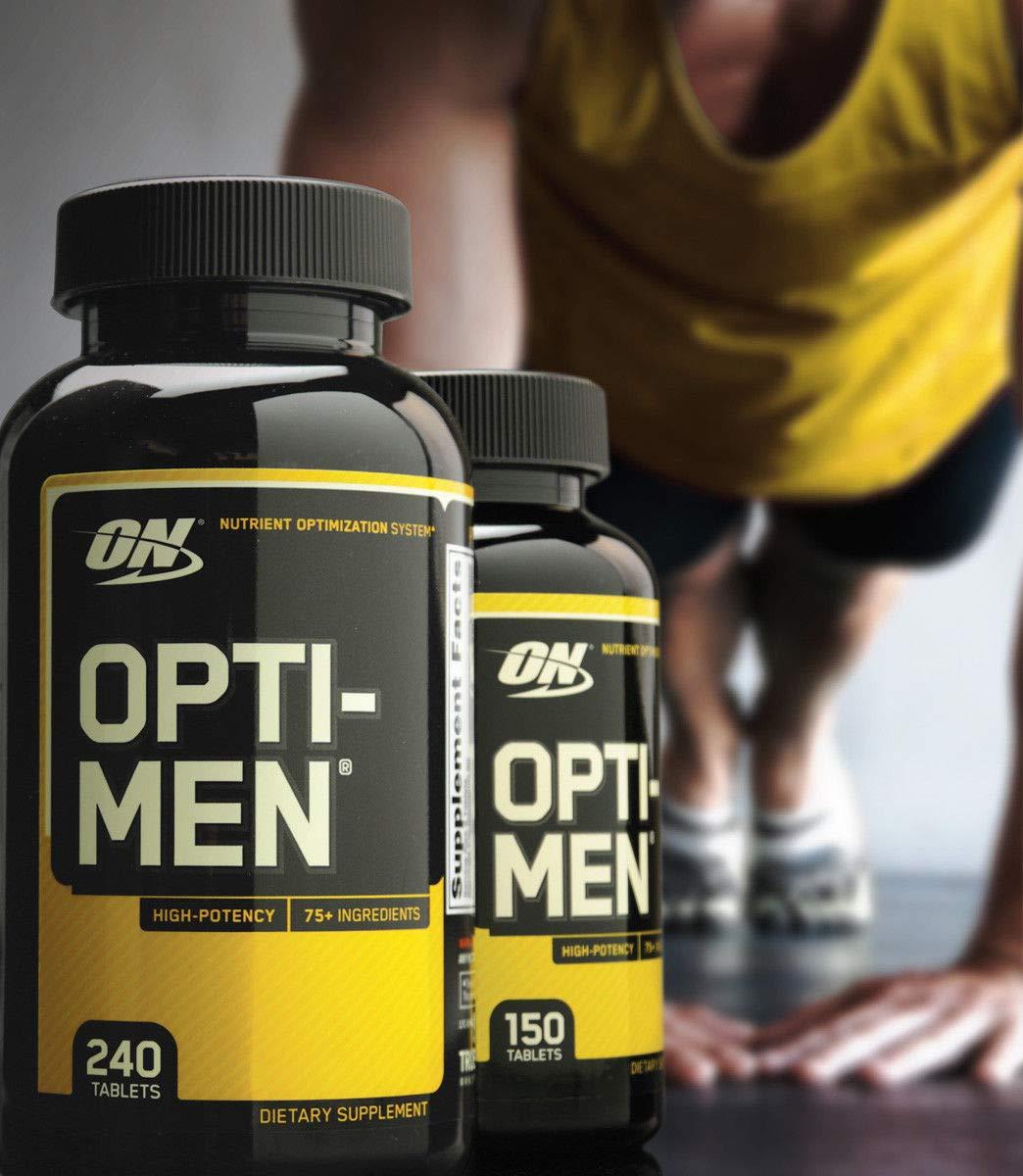 Amazon.com: Optimum Opti-Men Multi-Vitamin Vitamin D Amino Acids B-Complex 240 Tablets: Health & Personal Care