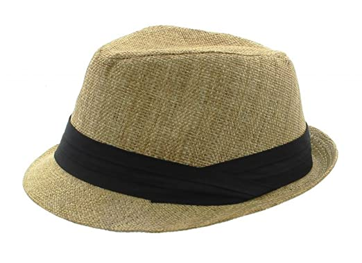 efb1732f041d3 Light Brown Fedora at Amazon Men's Clothing store: