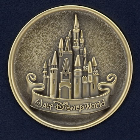 Walt Disney World Castle Medallion 200 4x6 Photo Album