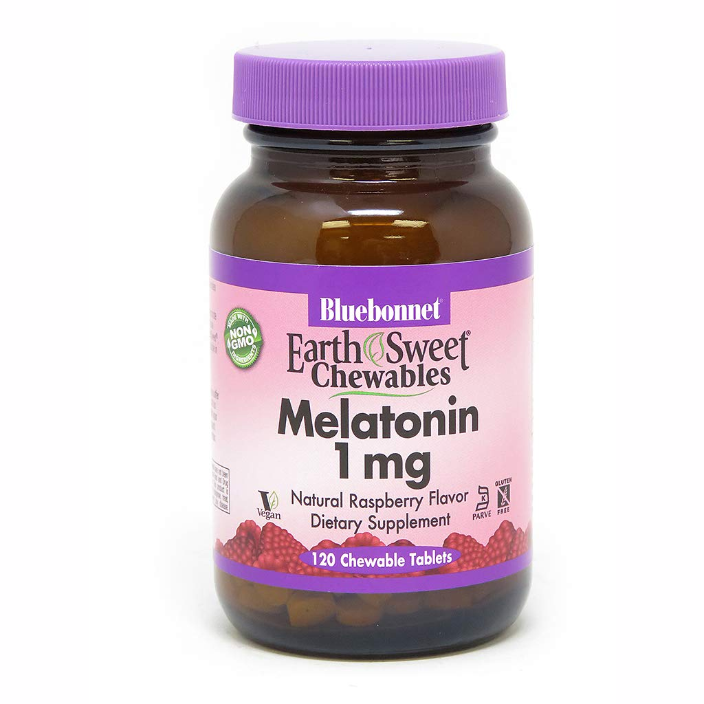 Amazon.com: BLUEBONNET Nutrition EARTHSWEET CHEWABLES MELATONIN 1 mg: Health & Personal Care