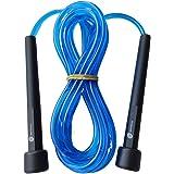 Cuerda para Saltar Sportisimo , 3 metros ajustable y Con Manijas Cómodas, Calidad Premium , Mejor Cuerda Ligera Para Mantener