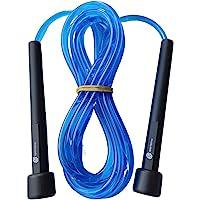 Cuerda para Saltar Sportisimo , 3 metros ajustable y Con Manijas Cómodas, Calidad Premium , Mejor Cuerda Ligera Para…