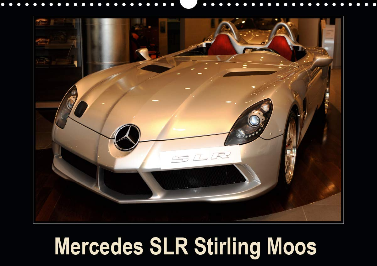 Mercedes SLR Stirling Moos  Calendrier Mural 2020 DIN A3 Horizontal