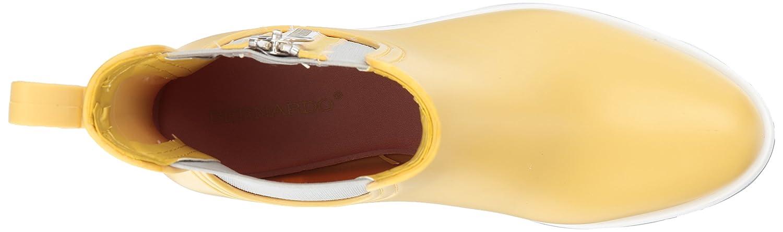 Bernardo Women's Zip Rain Boot B06XYYF2WD 9 B(M) US|Misted Yellow Rubber