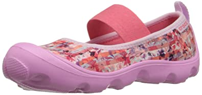 b3d5b665c6bcb Crocs Duet Busy Day Floral PS Mary Jane (Toddler/Little Kid)