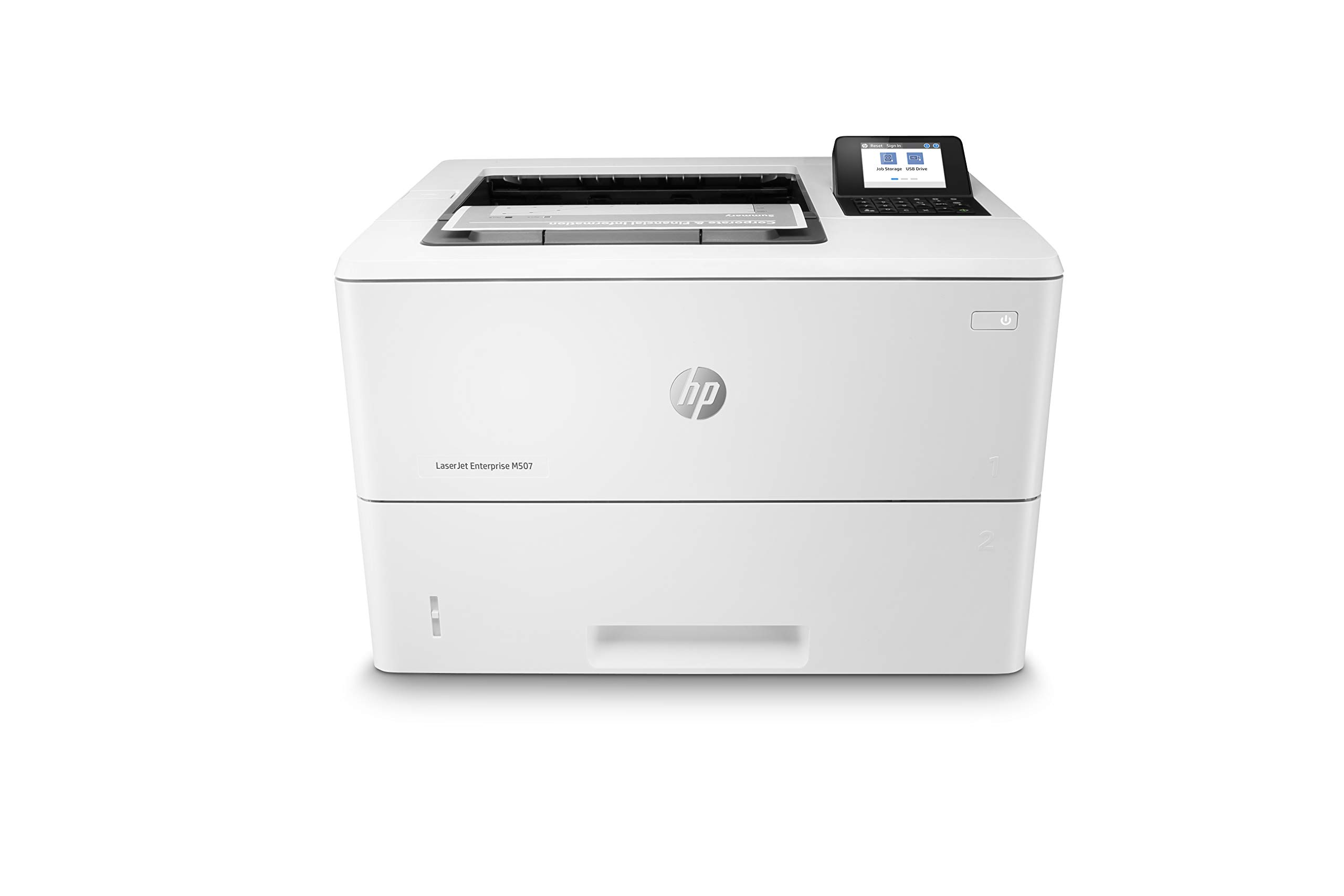 HP Laserjet Enterprise M507n with One-Year, Next-Business Day, Onsite Warranty (1PV86A) by HP