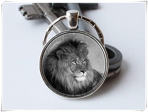 Amazon.com: Llavero con diseño de león de la familia de ...
