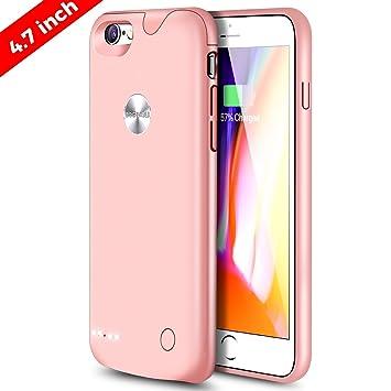 DOGIDOLI iPhone 6 6S Funda Cargador dogidoli 2500 mAh Ultra delgada Extended Battery Case Estuche de Carga Portátil para iPhone 6 6S 4.7 Inch