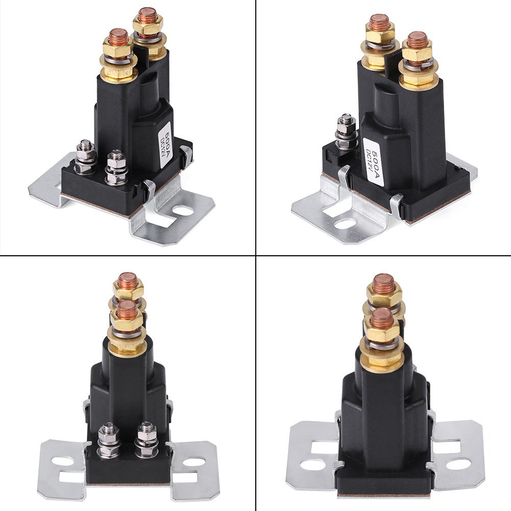 Battery Isolator 500A High Current Starter 12V Auto Starter Relay Suitable for Home Car Experiments Starter Relay