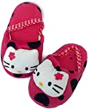 StyleWalk Kids Fur Slippers for Winters with Elastic for Boys & Girls