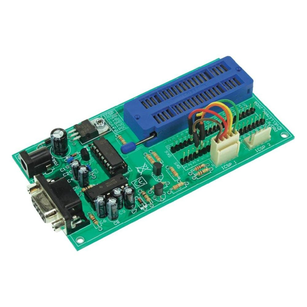 Velleman K8076 Pic Programmer Board Circuit Testers Boards For Isp Serial Printed
