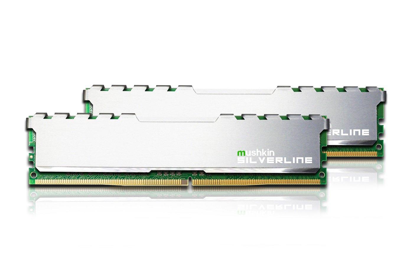 Memoria Ram 32gb Mushkin Silverline Series  Ddr4 Dram  (2x16gb) Kit Dimm  2133mhz (pc4-17000) Cl-15  288-pin
