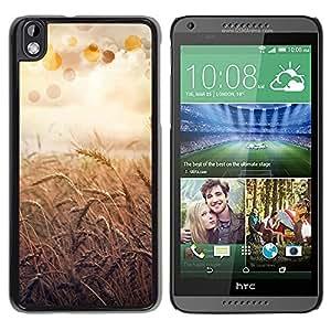 Be Good Phone Accessory // Dura Cáscara cubierta Protectora Caso Carcasa Funda de Protección para HTC DESIRE 816 // Nature Beautiful Forrest Green 55