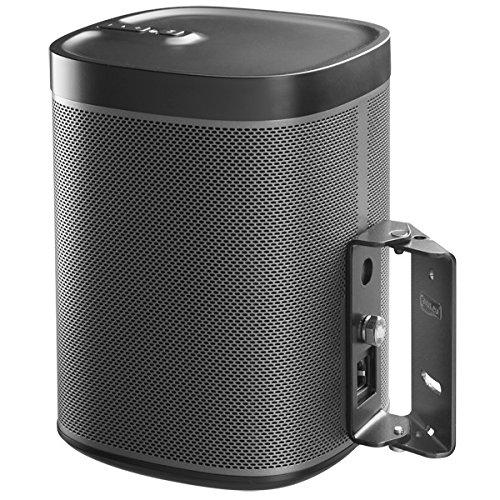 surround-sound-swivel-wall-mount-suitable-for-sonos-play1-black-with-15-degrees-tilt