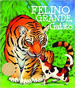 Felino grande, gatito [Big Cat, Little Kitty] (Spanish Edition) (Arbordale Collection): Scotti Cohn, Susan Detwiler: 9781628554076: Amazon.com: Books