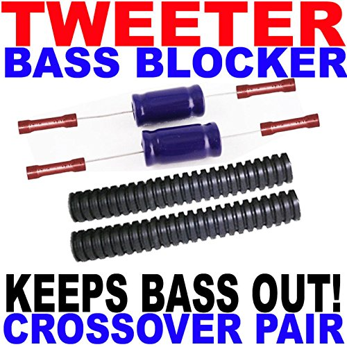 Tweeter Bass Blockers Crossovers Protection +More Power