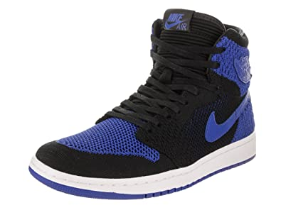 newest 33bd8 b0c44 AIR Jordan 1 Retro Hi Flyknit  Flyknit  - 919704-006  Amazon.fr  Chaussures  et Sacs