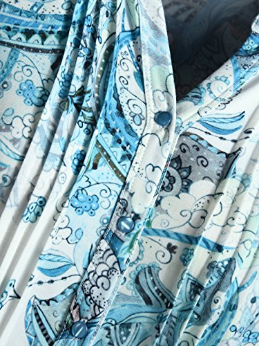 Mocca by J.L. - Camiseta sin mangas - para mujer azul turquesa