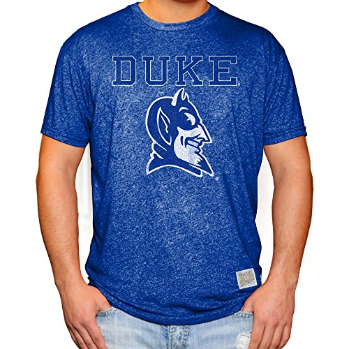 Duke Fan - Elite Fan Shop Duke Blue Devils Retro Tshirt - M