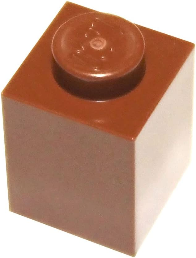 LEGO Parts and Pieces: Reddish Brown 1x1 Brick x50
