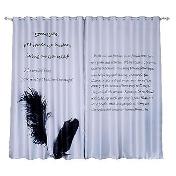 Amazonde Kao0yan Vorhang Vorhänge Gardinen Wohnzimmer Gardine