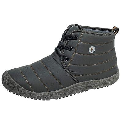 ALIKEEY Zapatos De Algodón De Terciopelo A Prueba De Agua para Mujeres Zapatos De Felpa Botines De Nieve Botines Botas De Futbol Hombres Zapatos Y ...