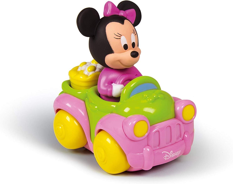 Minnie Mouse-14977 Disney Coche Flower Truck con Sonidos y melodías, Multicolor (Clementoni 149773)