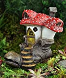 Georgetown Home and Garden Fiddlhead Fairy Old Clodhopper Mushroom House