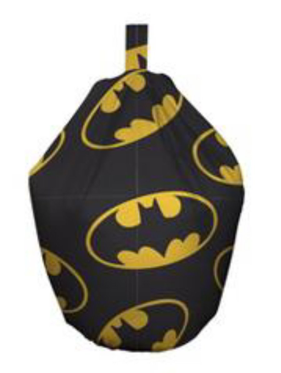 Batman Symbol Filled Childrens Kids Bean Bag New Kidco